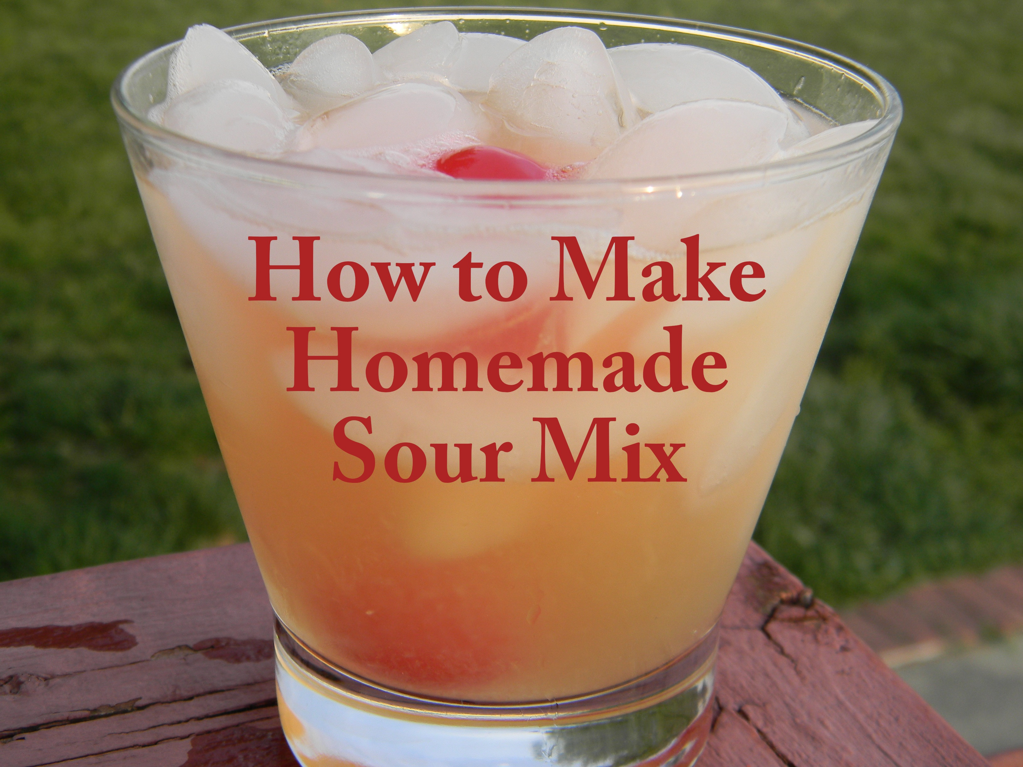 How to Make Homemade Sour Mix - Giggles, Gobbles and Gulps