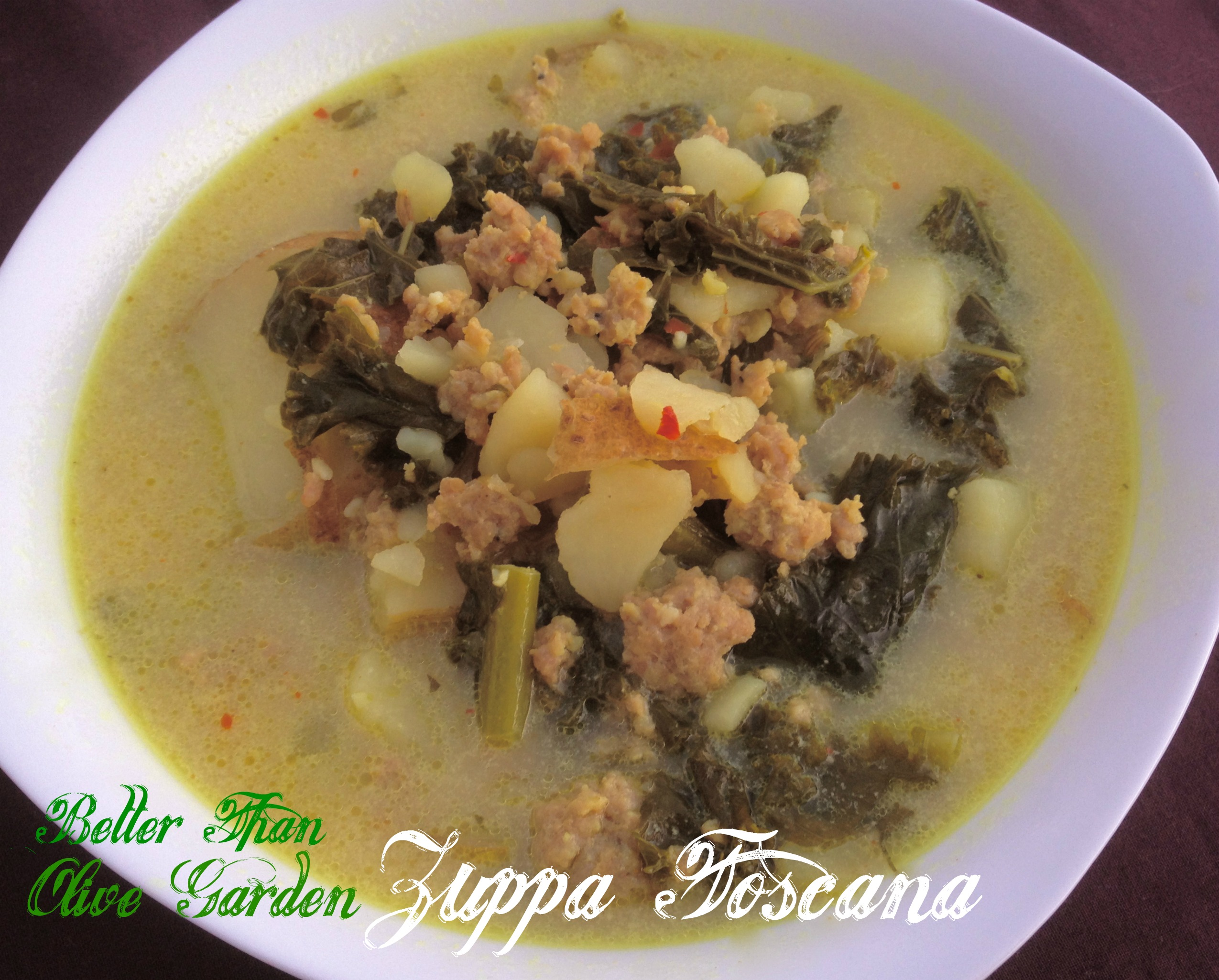 Sausage Potato And Kale Zuppa Toscana Giggles Gobbles