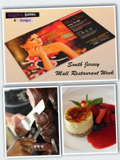 South Jersey Mall Restaurant Week